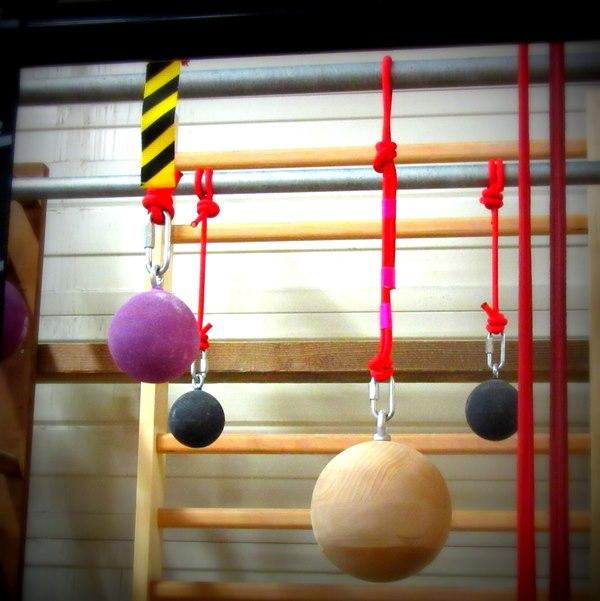 boules et suspensions